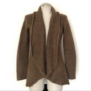 Wooden Ships Open Cardigan Brown Size S/M